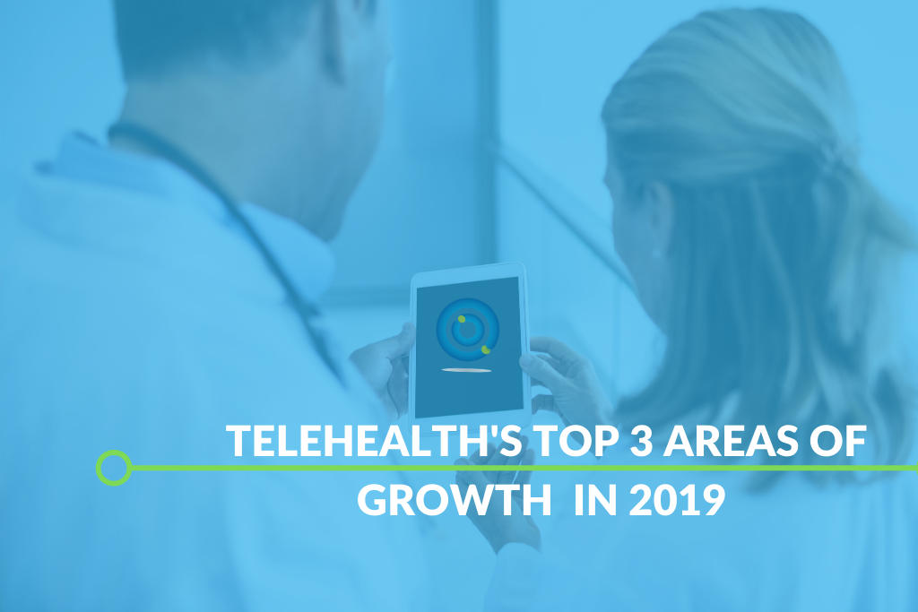 Telehealth's Top 3 Growth Areas In 2019