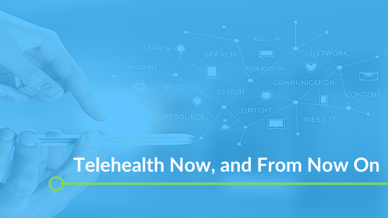 Telehealth Now, and From Now On